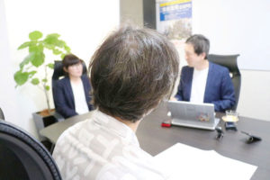 U様インタビュー風景